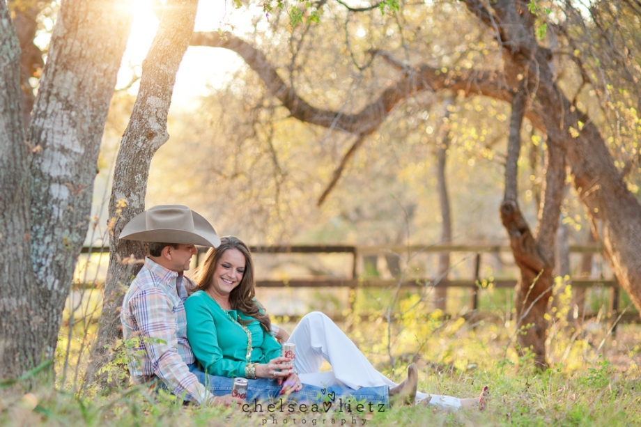 A Love Story * Hill Country Engagement Photos * Chelsea ...