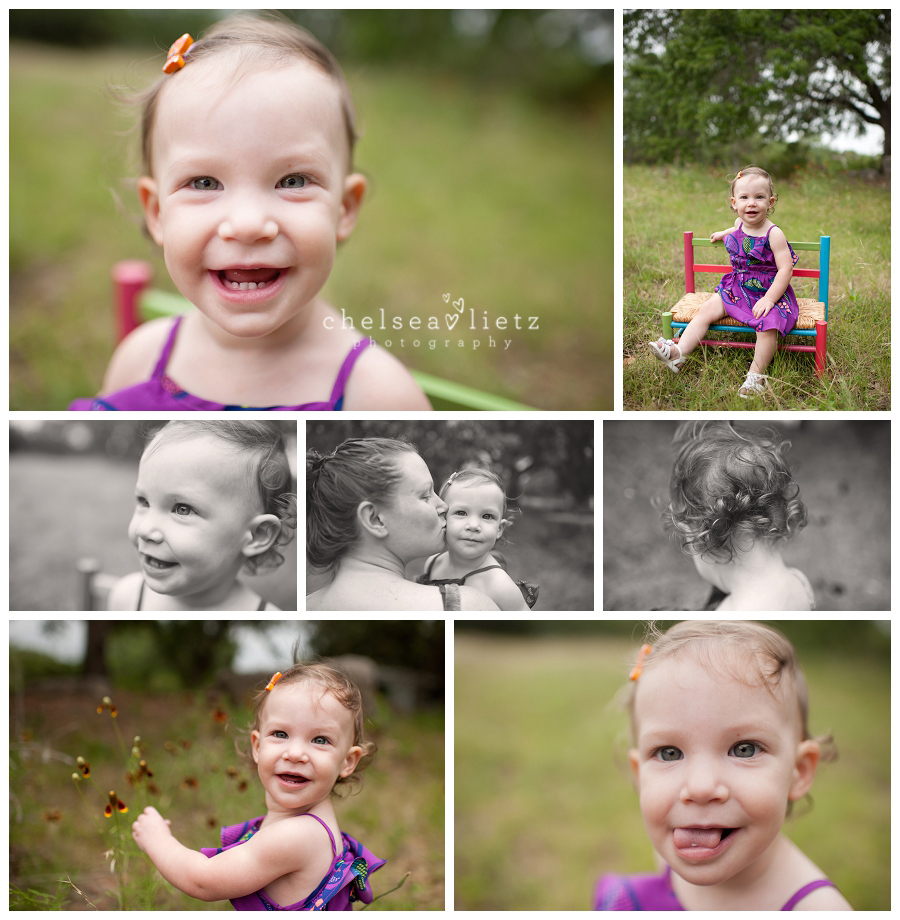 Bulverde Child Photographer: Hannah Is One! * First Birthday Cake Smash * San Antonio