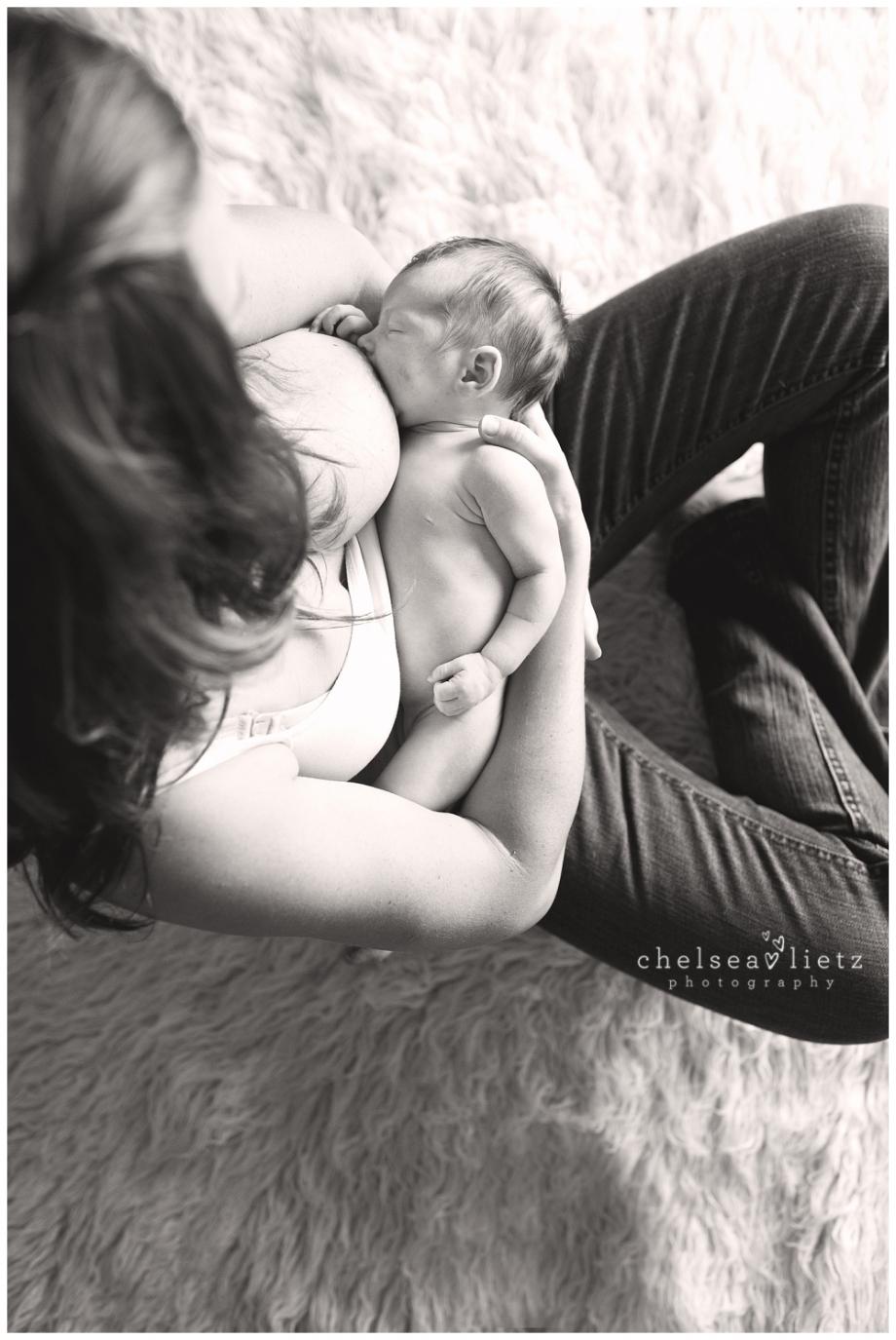Breastfeeding Portraits Capturing The Mother Baby Bond