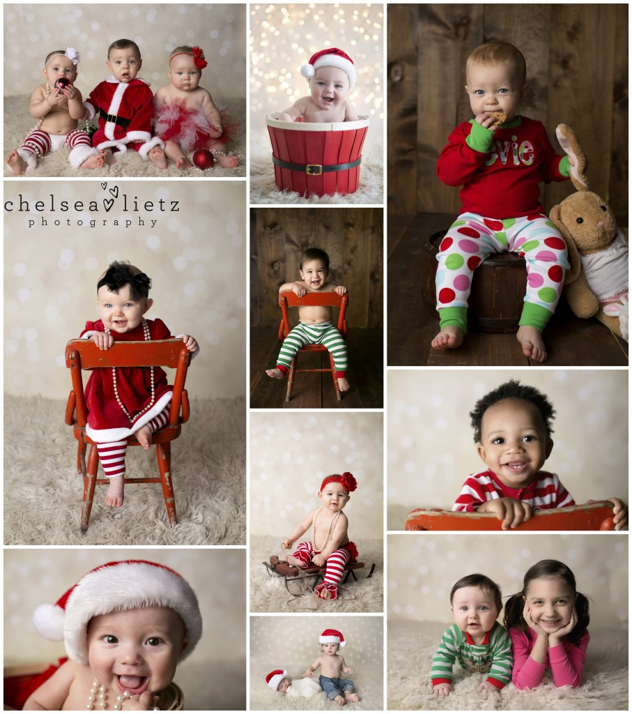 Christmas Pajamas Photoshoot.San Antonio Child Photographer Holiday Mini Sessions San