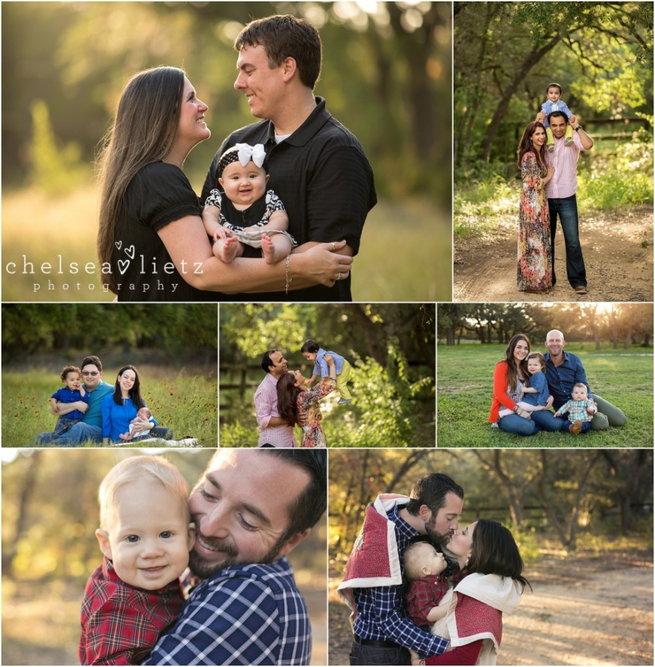 San Antonio Family Photographer: Fall Family Photos & Child Christmas Portraits In San
